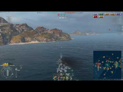 New Orleans Heavy Cruiser World of Warships