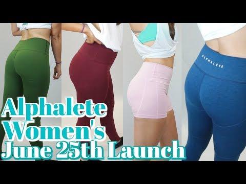 Alphalete Women's Leggings/Shorts Sizing Chart- June 25th Launch thumbnail