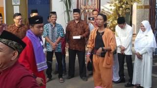 Tradisi Palang Pintu (Ponakan Nikah)