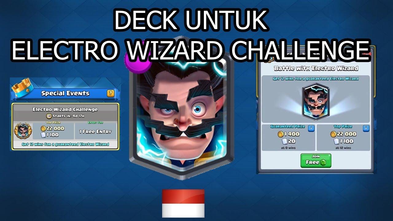 electro wizard challenge pake deck orange juice gaming clash