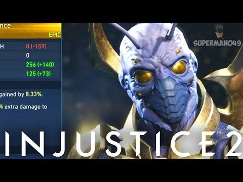 AMAZING EPIC HEAD GEAR I NEVER KNEW EXISTED... -  Injustice 2 New Epic Gear Mother Box Opening