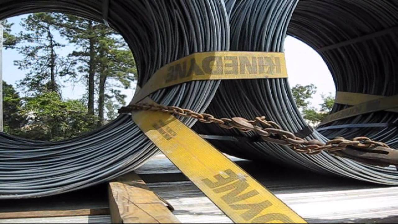 Proper Load Securement Wire Coils Youtube
