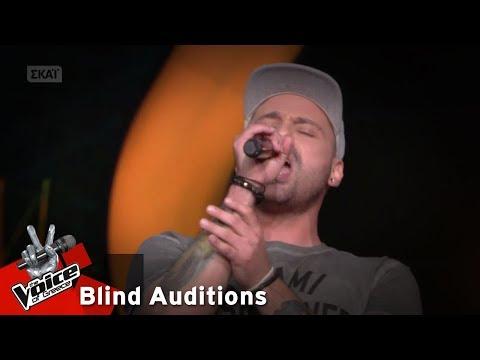 Gary Frad - Μη μ' αγγίζεις | 7o Blind Audition | The Voice of Greece
