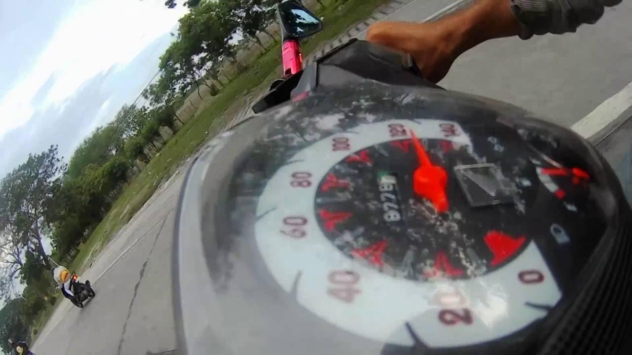 honda beat: honda beat ang rouser 200cc a head of me - youtube