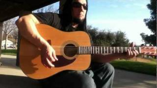 hank williams jr country boy can survive guitar cover