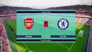 Arsenal vs Chelsea 2-0 | Premier League 19 January 2019 Gameplay