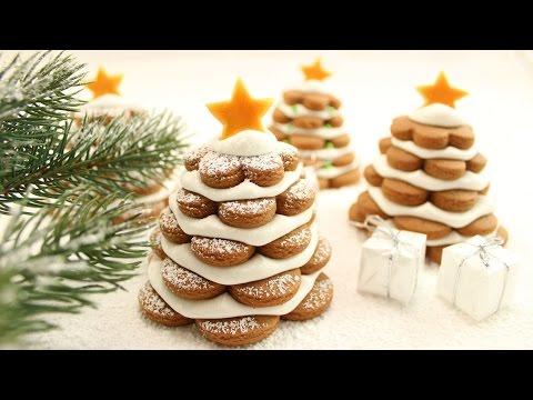 Gingerbread Tannenbäumchen I 3D Tannenbaum Cookies I Weihnachtsplätzchen I Adventskalender 11