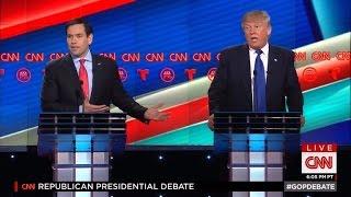 Marco Rubio Loses The Spotlight at GOP Debate to Screaming Fan