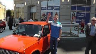 Советские автомобили в Нью-Йорке