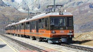 Ride Switzerland's  awesome Gornergrat R...