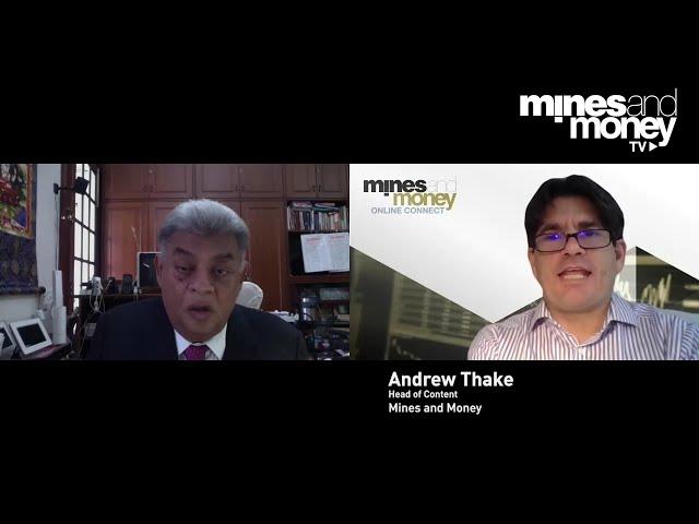 Mines and Money TV - Dipak Rajini, CEO of Damodar Limitada