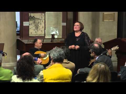 Ana Vinagre performs Live at the John Carter Brown Library, 3/2/15