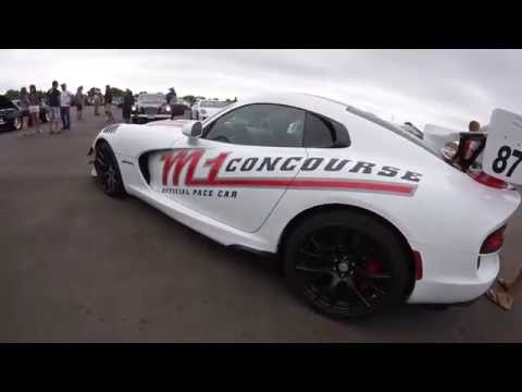 M1 Concourse Cars and Coffee Meet 7-30-16
