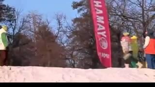 Спортивные приколы ! Лучшее ! ОХРЕНЕТЬ!!! Болельщицу спасло чудо! Видео про спорт 2013! video sport