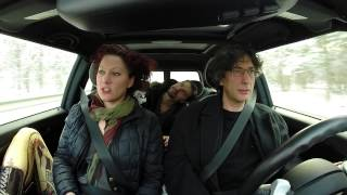 NEIL AND AMANDA AND LANCE IN THE CAR…MAH NA MAH NA