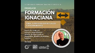 Plática | Ejercicios espirituales y discernimiento