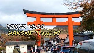 Sub)일본 일상 브이로그랜선 여행(1편)_하코네 료칸…