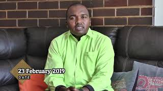 Special Announcement by Pastor Ian Ndlovu ~ Harare Revival 2019