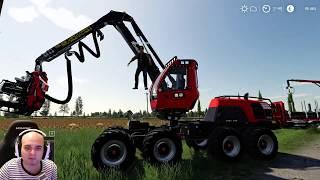 FARMING SIMULATOR 19 #20 - ROBY MI AIUTA CON LA LEGNA - NF MARSCH ITA