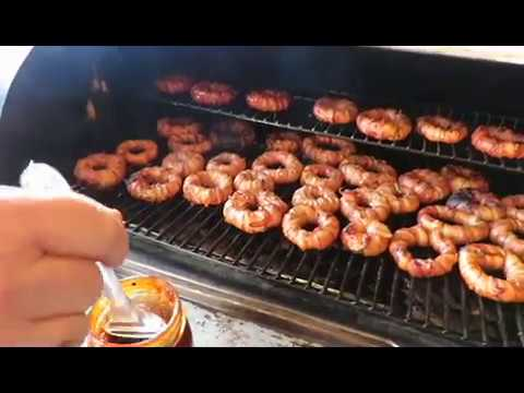 Cheeseburger Bacon Onion Rings on the Traeger - food only ...