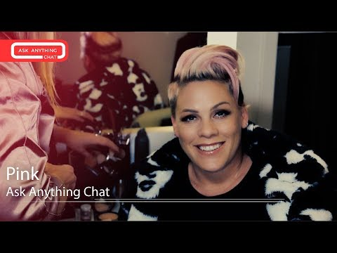 Pink Sings Us Her Favorite Christmas Song Of All Time.