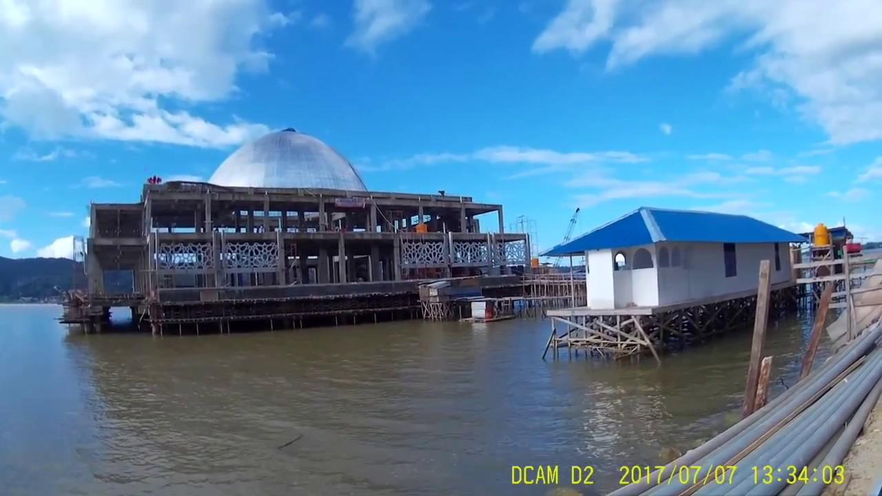 Masjid Di Tengah Laut Teluk Kendari Sultra YouTube