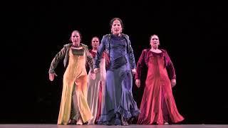 """Avance del espectáculo """"Tauromagia. Coreografía para la obra de Manolo Sanlúcar"""", de Mercedes Ruiz"""