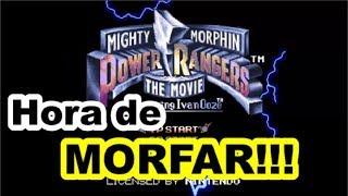 [SNES] Mighty Morphin Power Rangers: The Movie - começar transformado