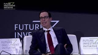 Capital markets with Steven Mnuchin and Sarah Al Suhaimi – Future Investment Initiative 2019 – Day 2