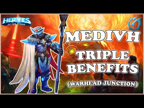 Grub  Heroes of the Storm  Medivh  Triple Benefits  QM  Warhead Junction
