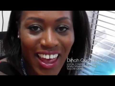 Dinah Quashie-Idun - Tullow people diaries