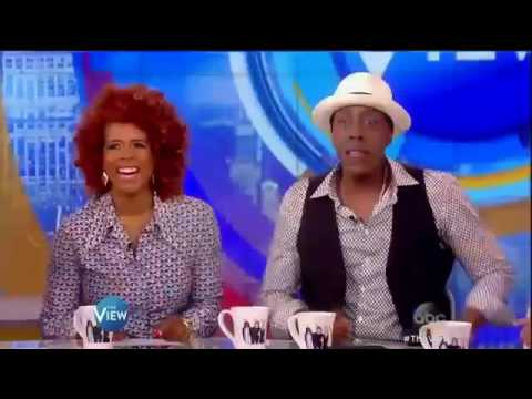 The View June 24, 2016 Arsenio Hall interview