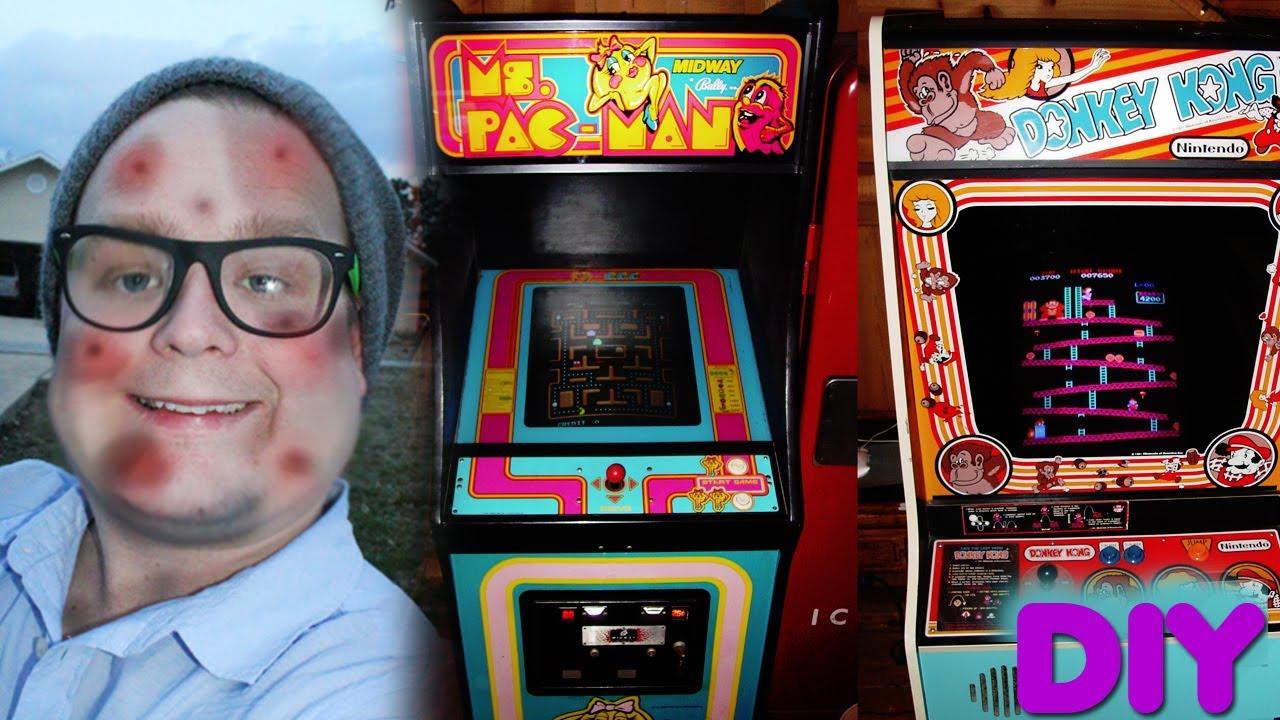 DIY  Build an Arcade Machine MAME Chris Canote Vlog6