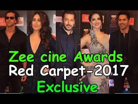 Zee Cine Awards 2017 Full Show Red Carpet | Salman, Kareena, Hrithik, Alia,Anushka||Top Telugu Media