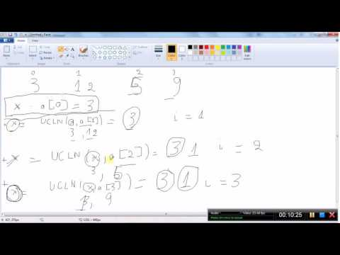 """[Lập trình C/C++] Tìm """" ước chung lớn nhất """" của tất cả các phần tử trong mảng 1 chiều số nguyên"""