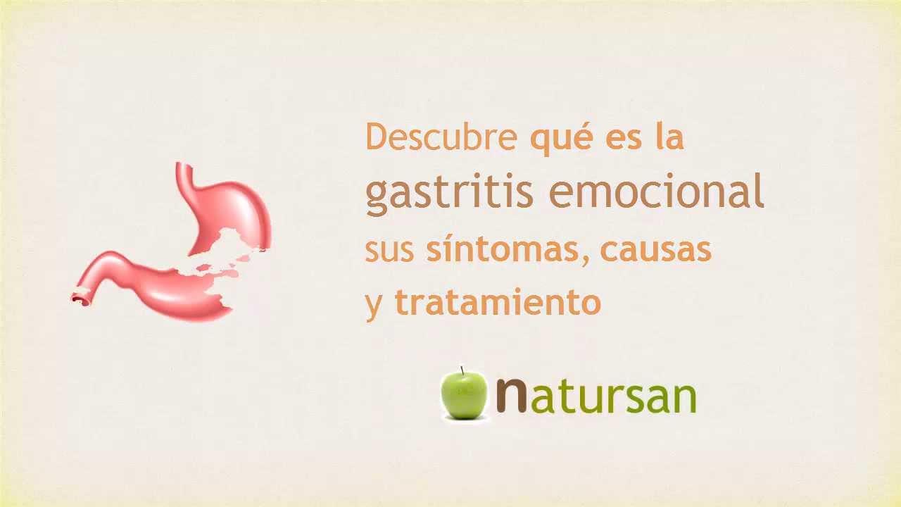 Gastritis en ninos de sintomas nerviosa