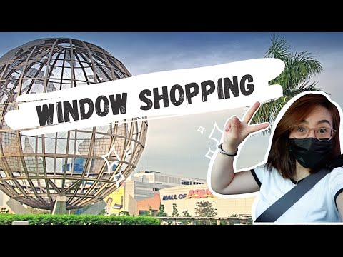 WINDOW SHOPPING/TOUR IN SM MALL OF ASIA PART 1