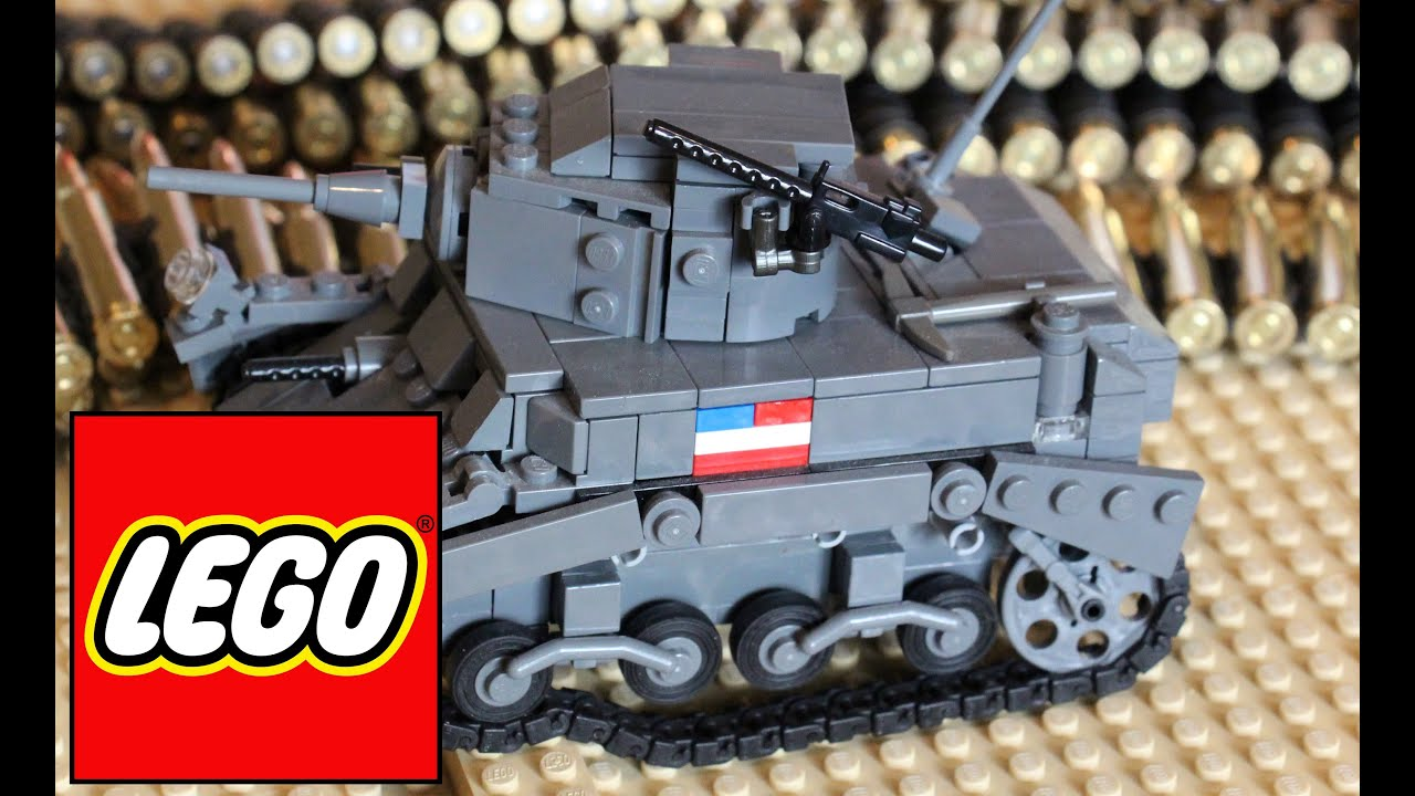 LEGO HAUL #50 - LEGO Tank Haul! LEGO M3A1 Stuart Tank, WW2 ...