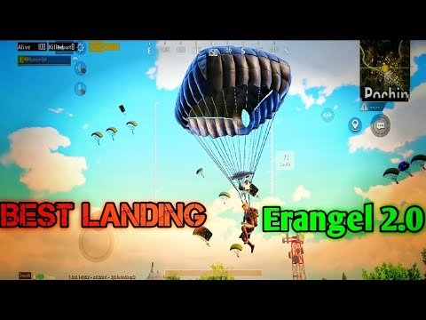 MILITARY POCHINKI BEST LANDING | SOLO VS SQUAD | PUBG MOBILE | ROOSTER BELL GAMING | TACAZ | LEVINHO