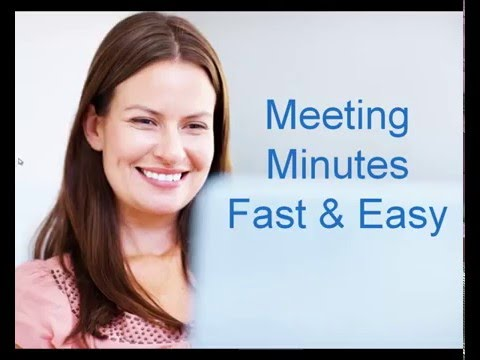 writing-meeting-minutes---fast-&-easy!