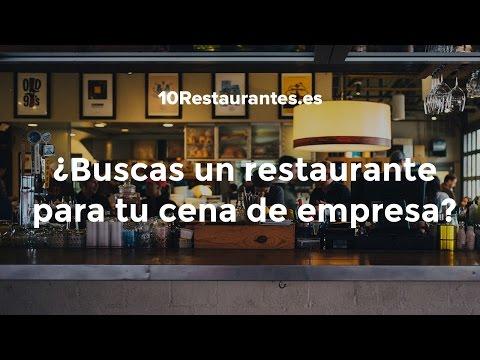 Más de 1.000 restaurantes para cenas de empresa