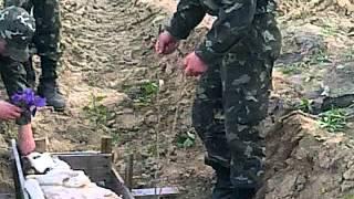 Похороны боевой собаки =D