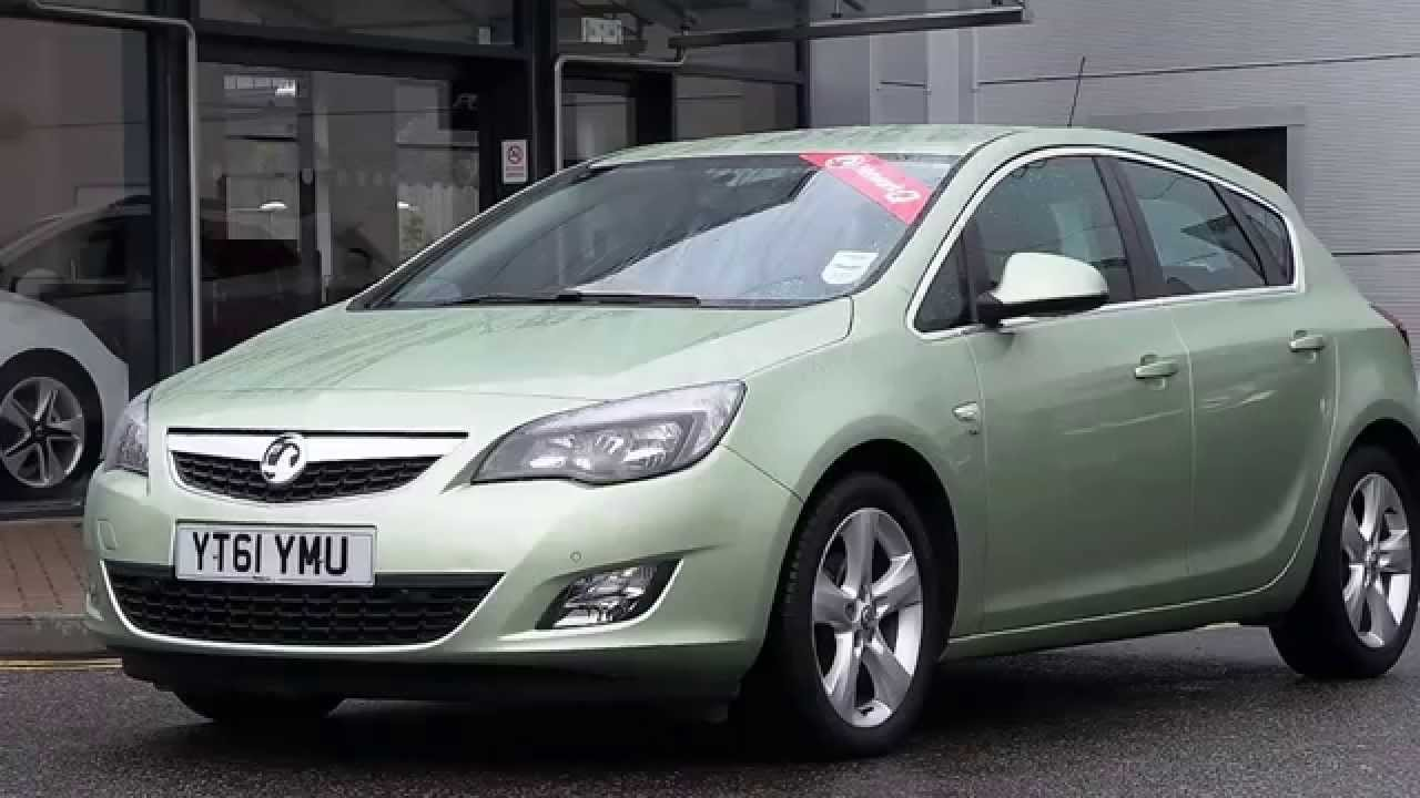 2011 61plate vauxhall astra 1 6 16v sri 5dr auto inc alloys and air con in silky shadow green. Black Bedroom Furniture Sets. Home Design Ideas