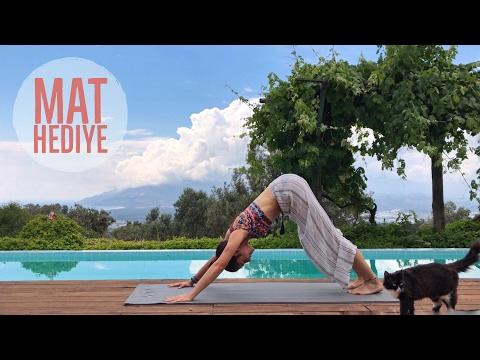 Enerjini yükselt ❤️ Yoga matı ve süpriz hediyeler | ÇEKİLİŞ
