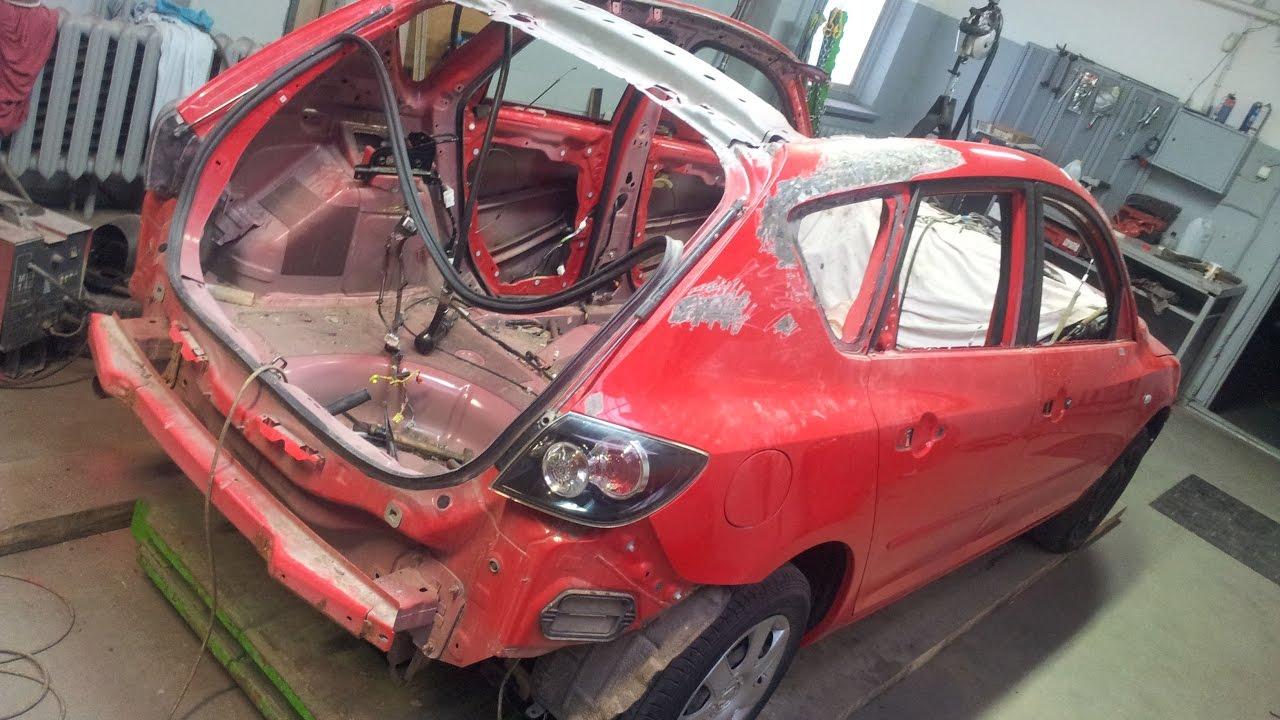 Mazda 3 Rollover Collision Repair
