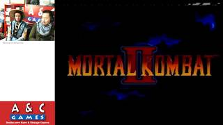 Mortal Kombat II (Genesis) Halloween Special with Raiden & Jake Park