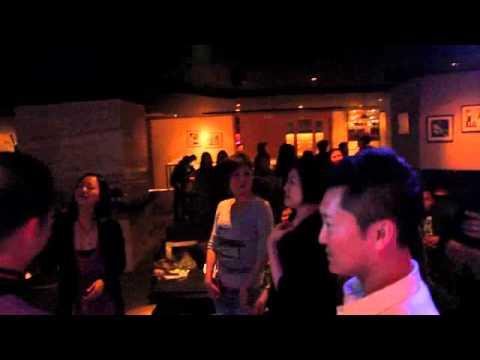 Guests having fun on a Saturday Night at FACES Music Lounge Hong Kong 230313