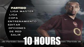 Pro Evolution Soccer 5 - Main Menu (Spiral 2005) Extended (10 Hours)
