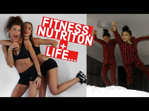 CHIC CHAT GRWM/Health, Fitness, + Nutrition Q&A With My MOM // TessaRenéeTR
