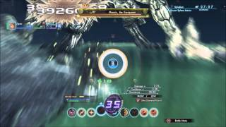 Xenoblade X - Pharsis Everqueen Solo on Foot - Javelin